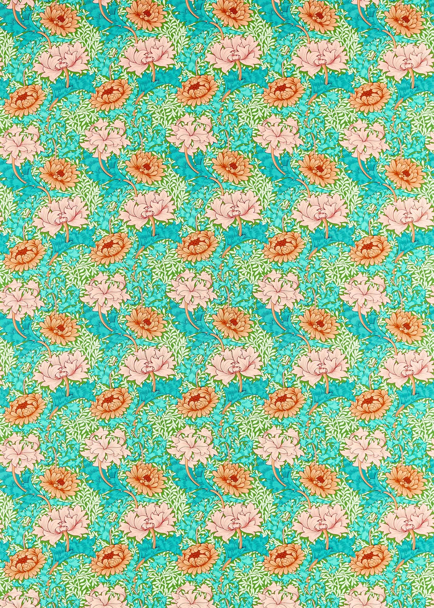 ウィリアムモリス生地 Chrysanthemum 226855