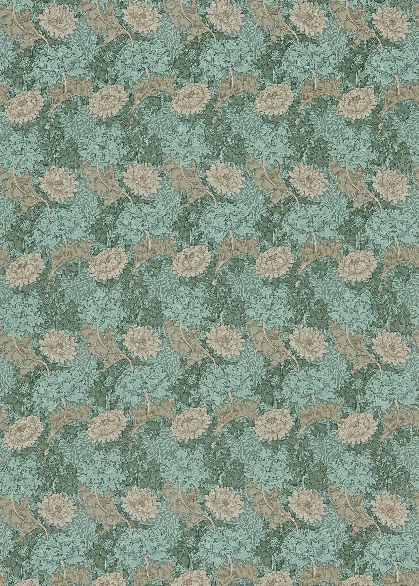 ウィリアムモリス生地 Chrysanthemum PR-7612-8