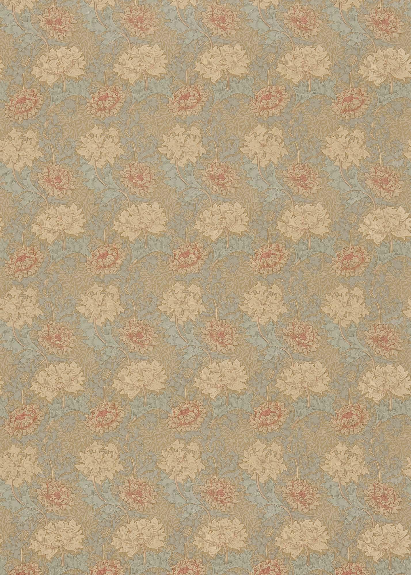 ウィリアムモリス生地 Chrysanthemum PR-7612-3