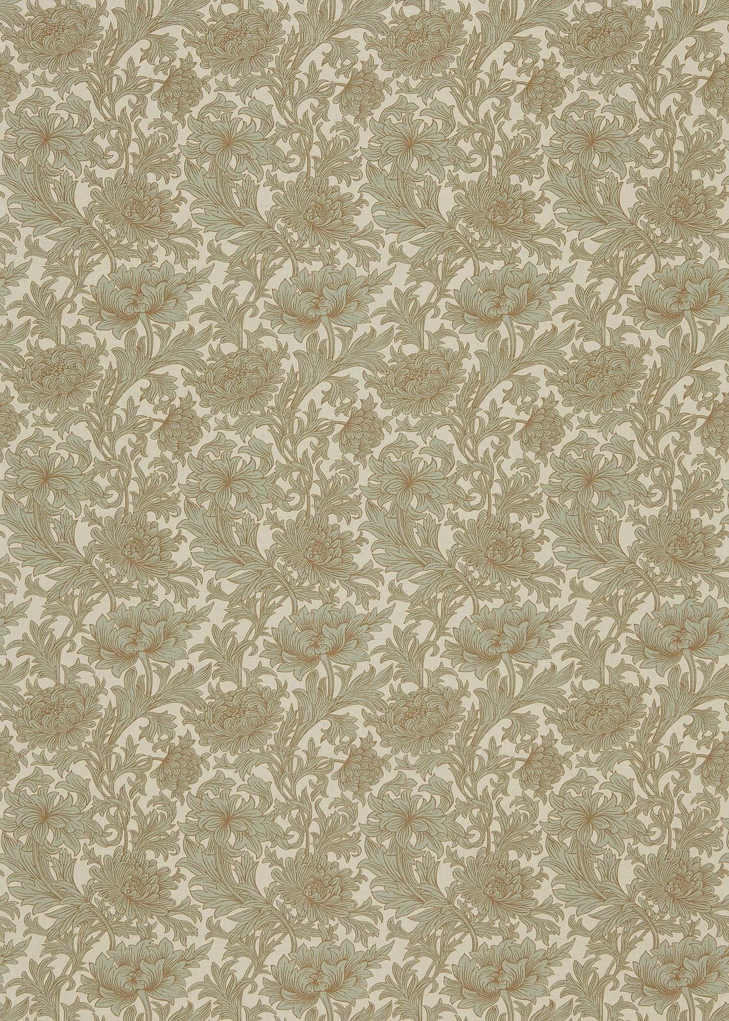 ウィリアムモリス生地 Chrysanthemum Toile DMCOCH-201