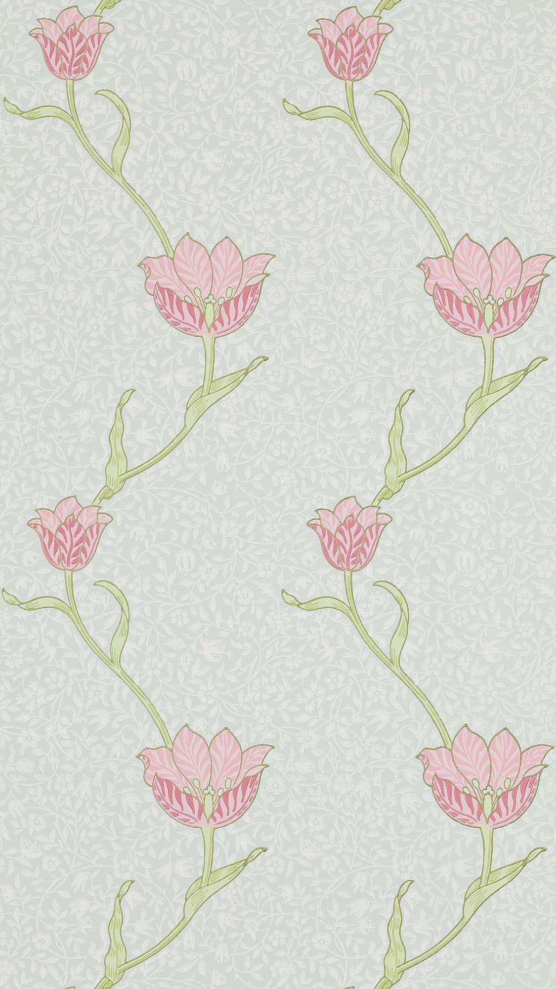 ウィリアムモリス壁紙 Garden Tulip 210394