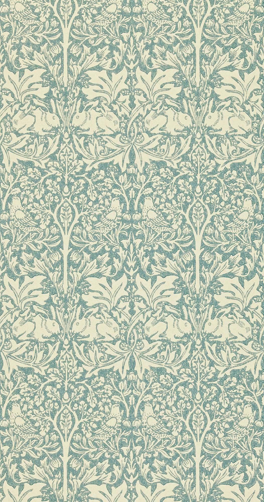 ウィリアムモリス壁紙 Brer Rabbit DMORBR-103