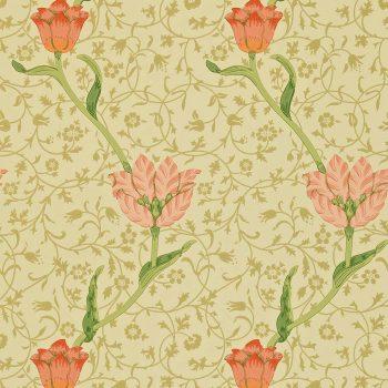 ウィリアムモリス壁紙Garden Tulip  WM-8552-2          10m1巻 ¥12,800(税別)