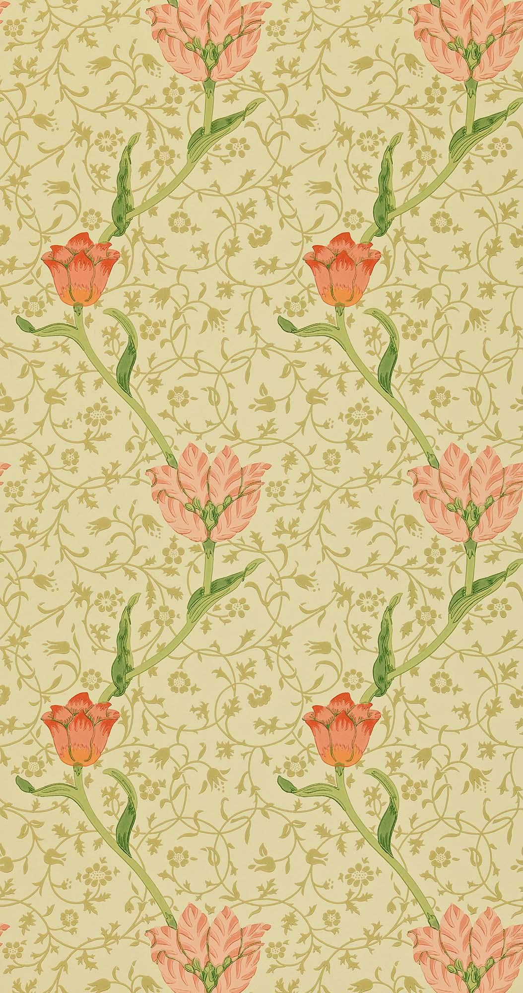 ウィリアムモリス壁紙 Garden Tulip WM-8552-2