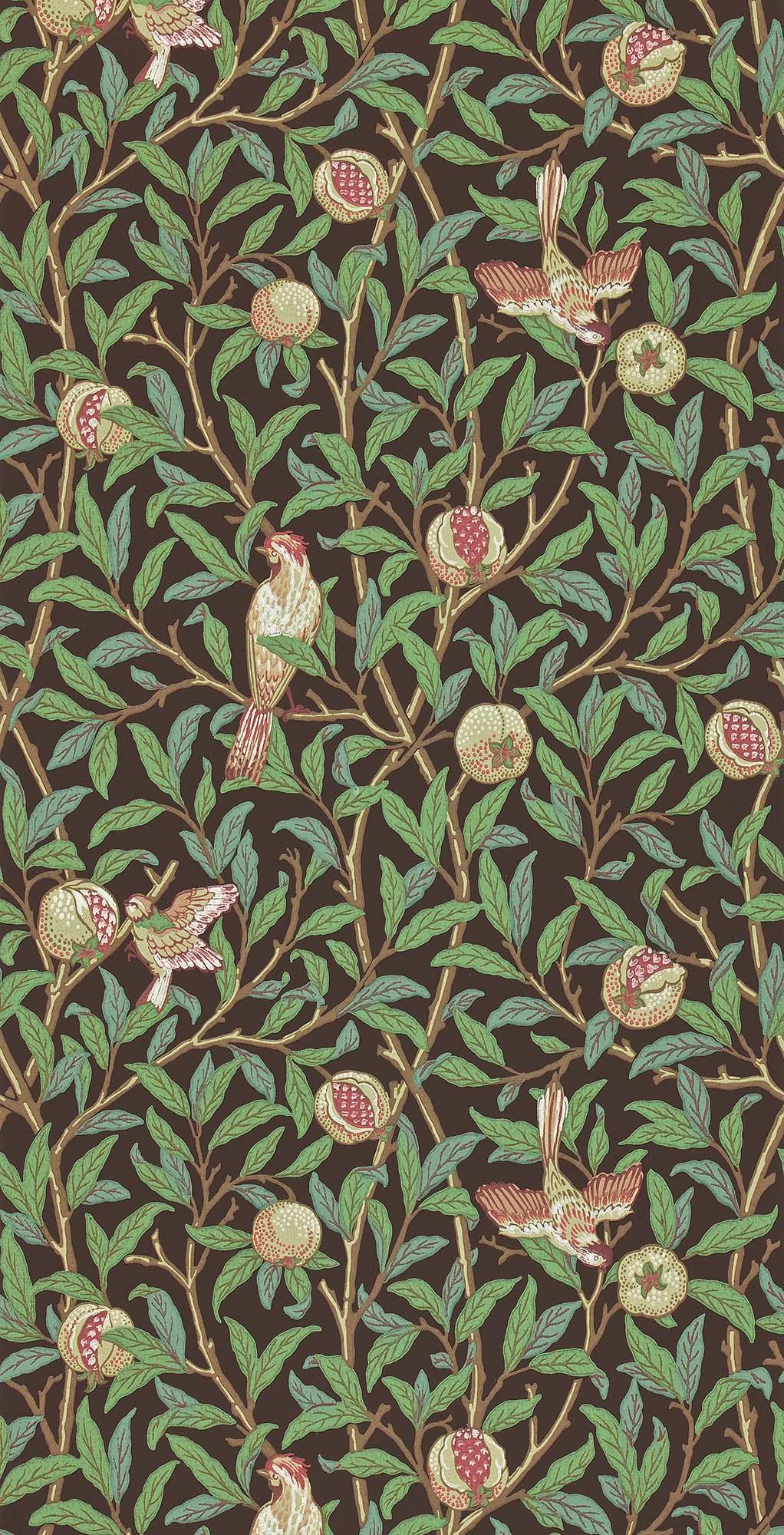 ウィリアムモリス壁紙 Bird & Pomegranate 212537