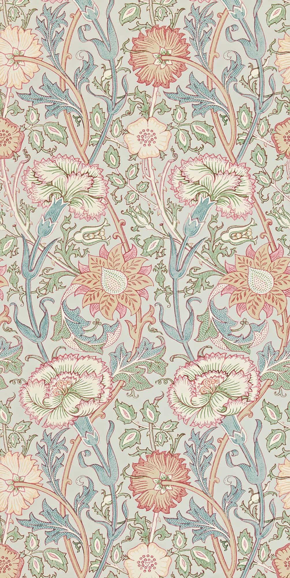 ウィリアムモリス壁紙 Pink & Rose 212568