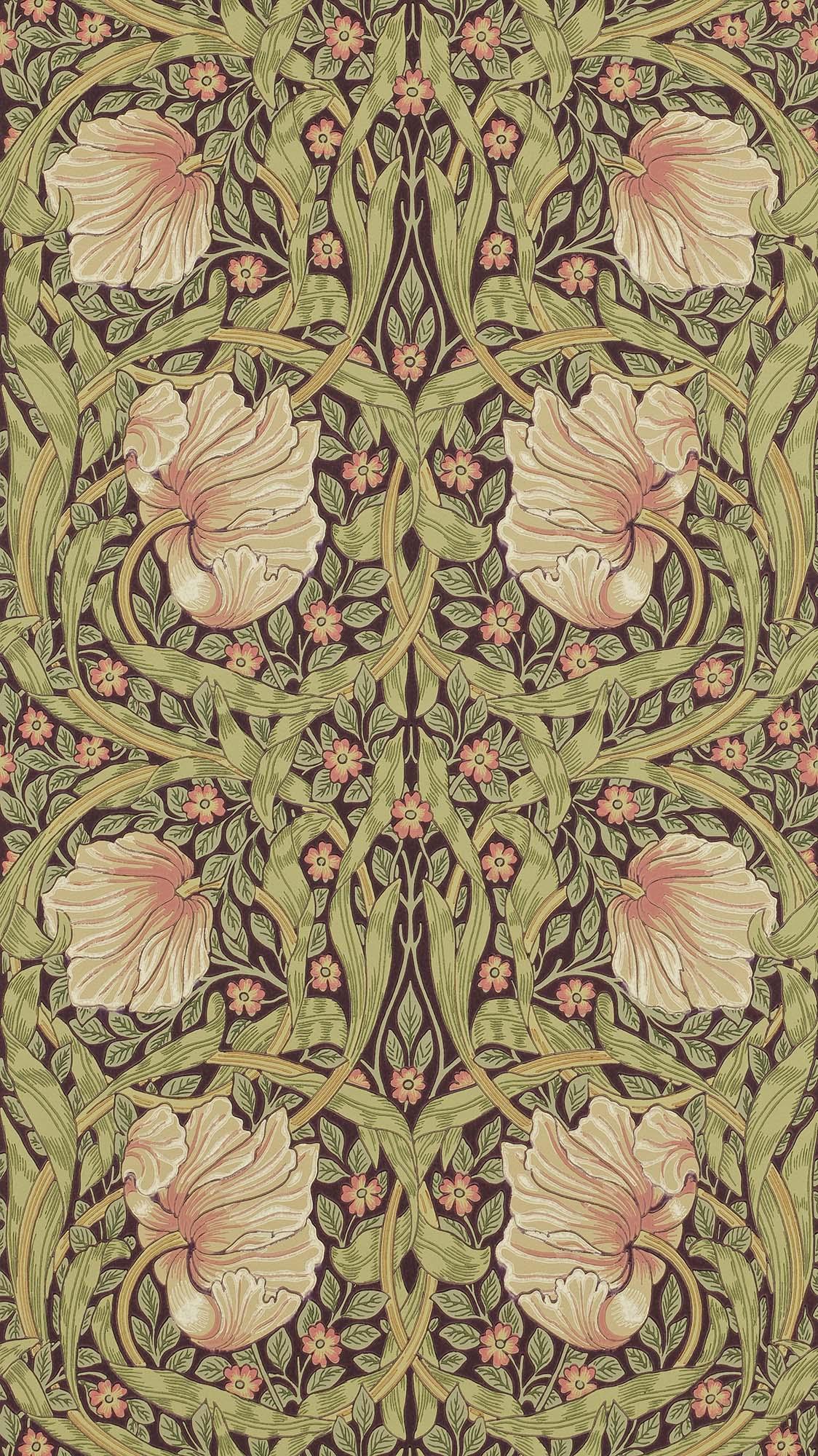 ウィリアムモリス壁紙 Pimpernel 210387