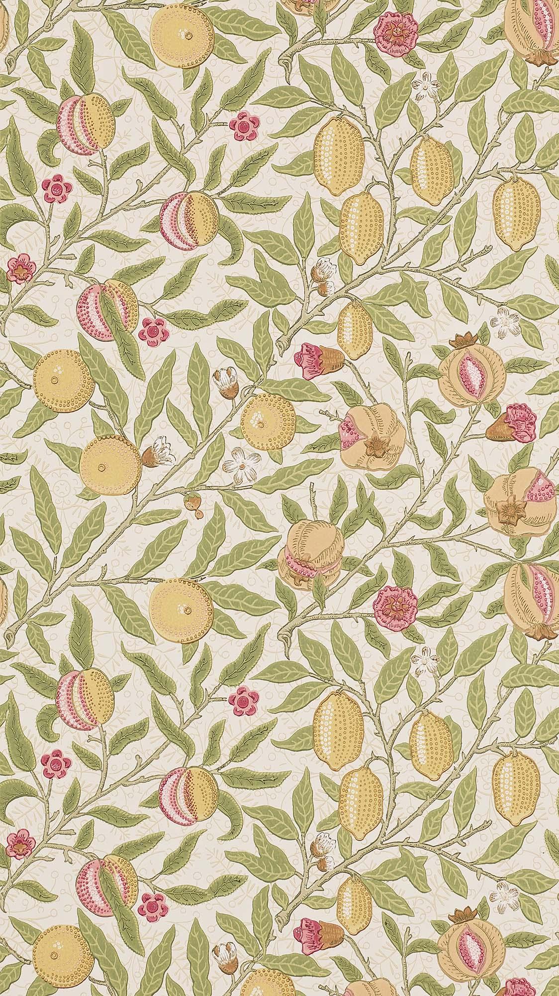 ウィリアムモリス壁紙 Fruit 210395