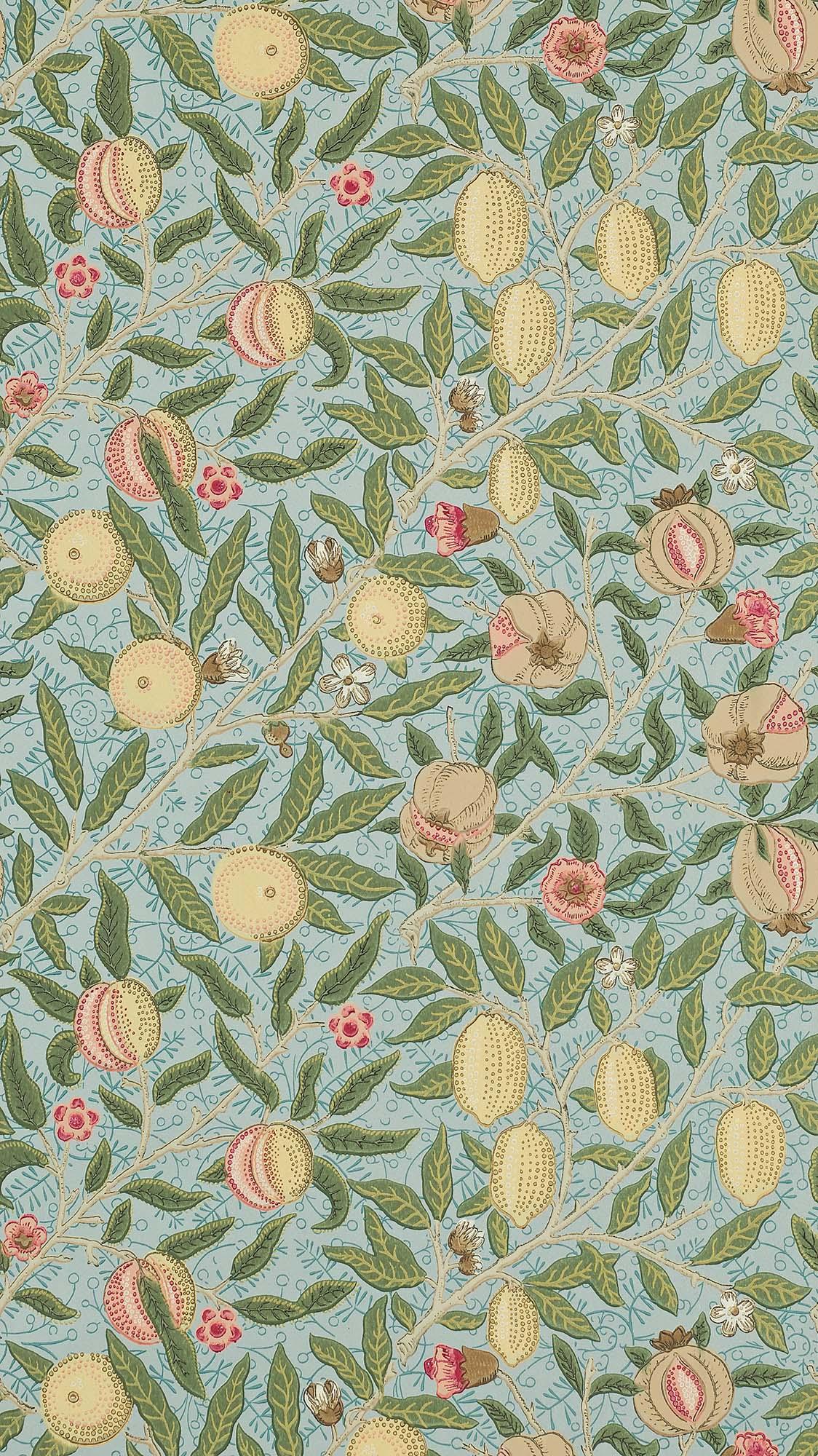 ウィリアムモリス壁紙 Fruit 210396