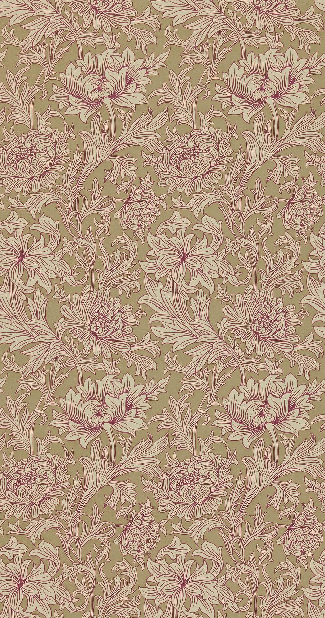 ウィリアムモリス壁紙 Chrysanthemum Toile DMOWCH-102