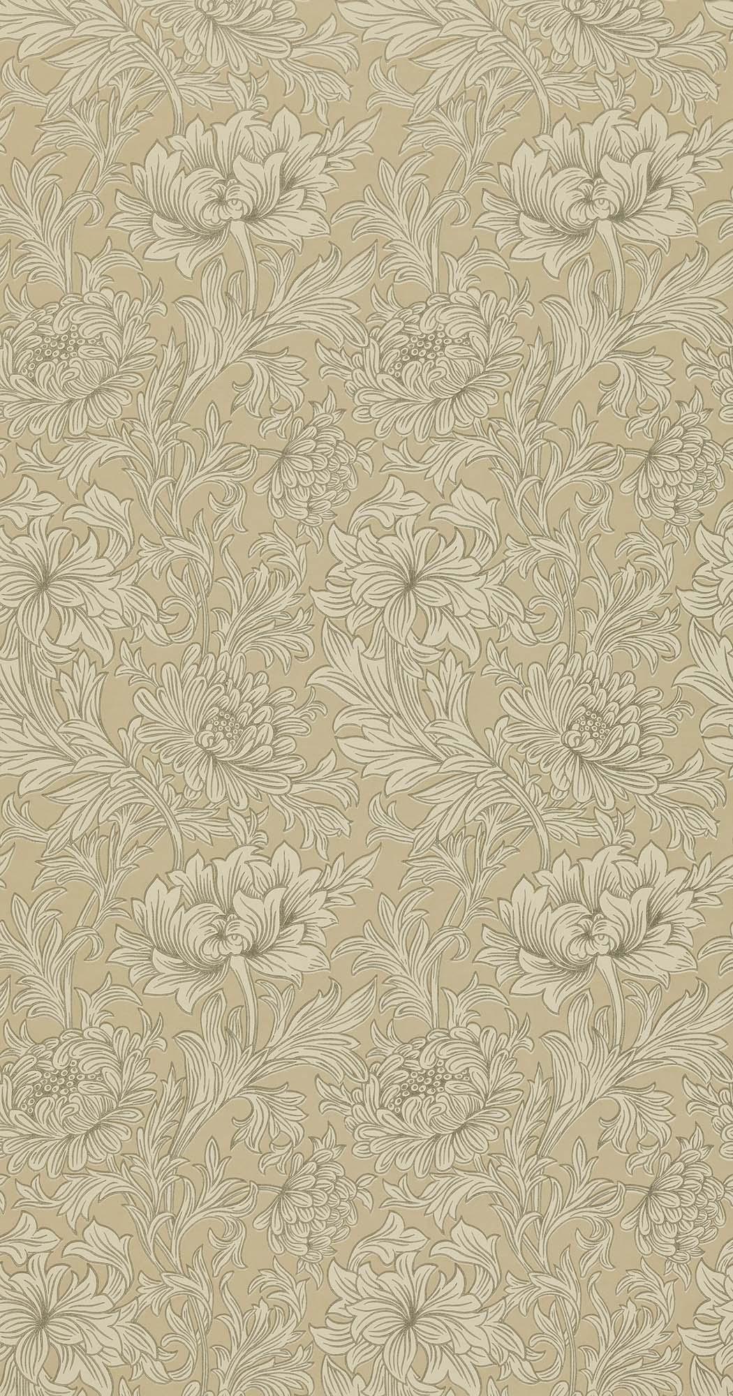 ウィリアムモリス壁紙 Chrysanthemum Toile DMOWCH-103