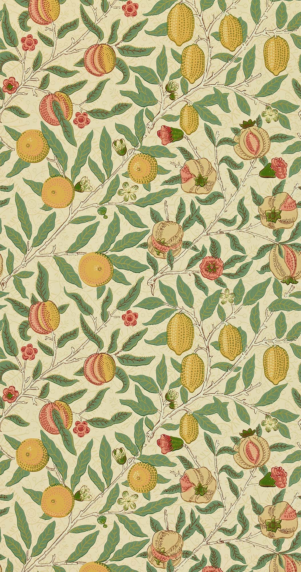 ウィリアムモリス壁紙 Fruit WR-8048-1
