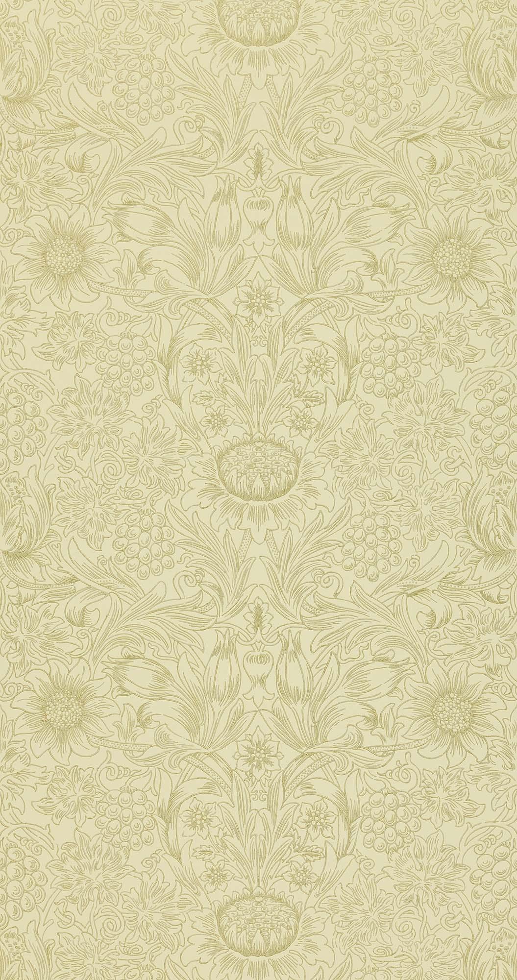 ウィリアムモリス壁紙 Sunflower Etch DMORSU-105
