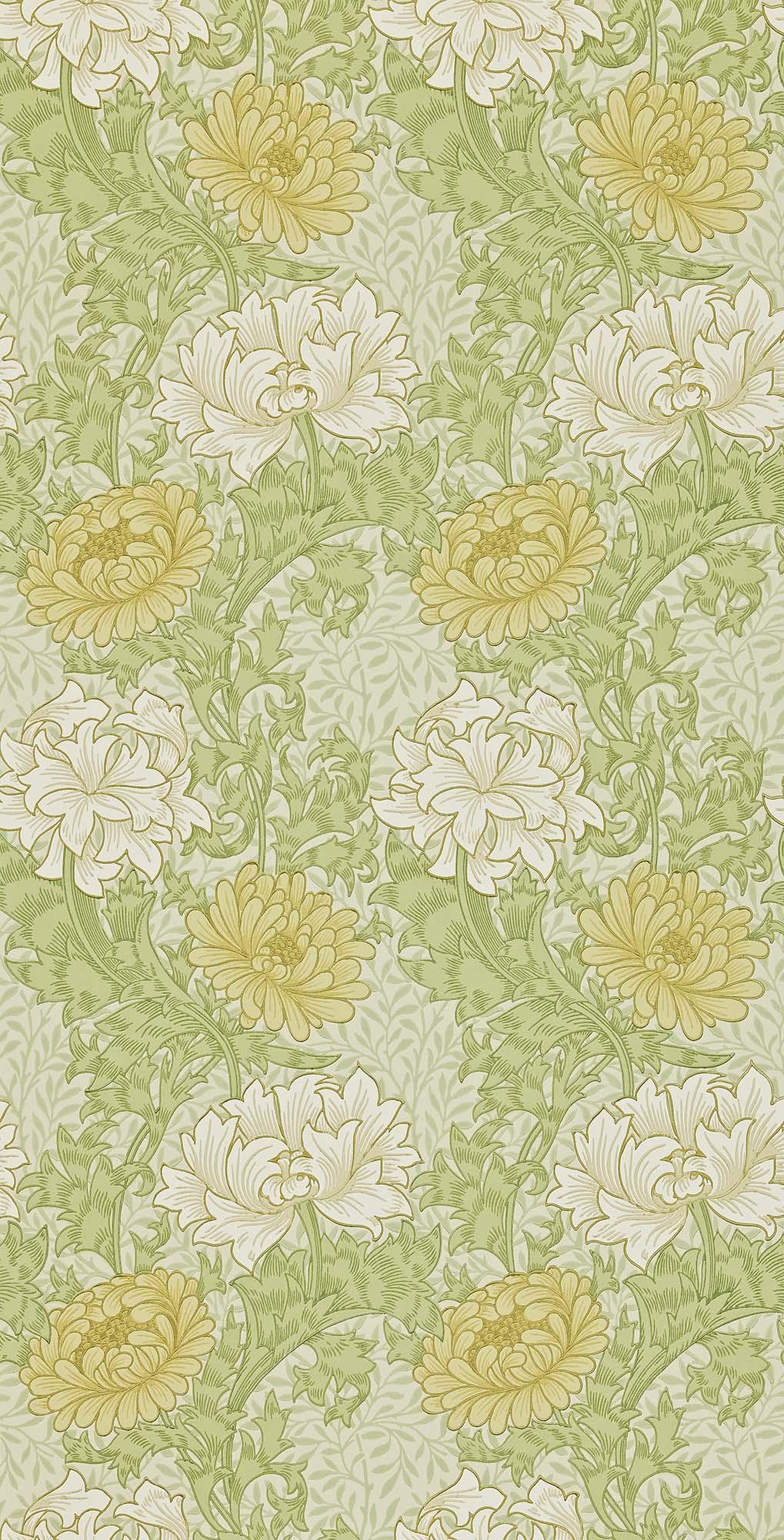 ウィリアムモリス壁紙 Chrysanthemum 212545