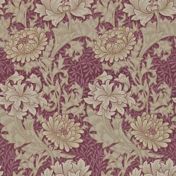 ウィリアムモリス壁紙Chrysanthemum  212548      10m1巻 ¥14,520(税込)