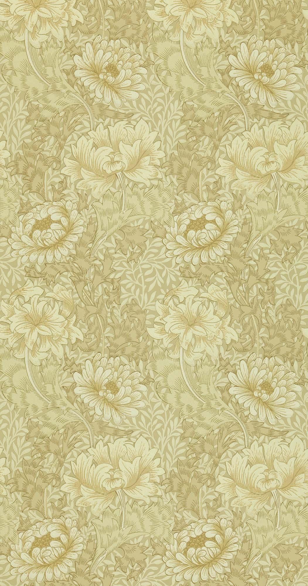 ウィリアムモリス壁紙 Chrysanthemum WM-7612-8