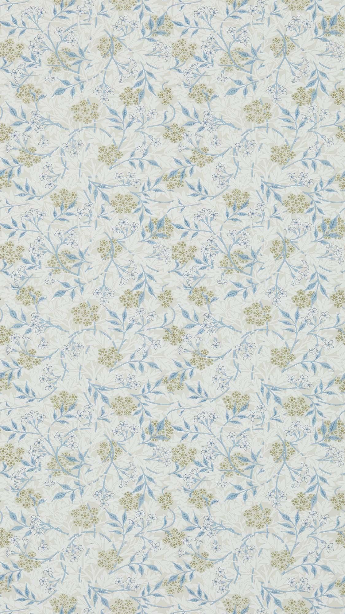 ウィリアムモリス壁紙 Jasmine 214724
