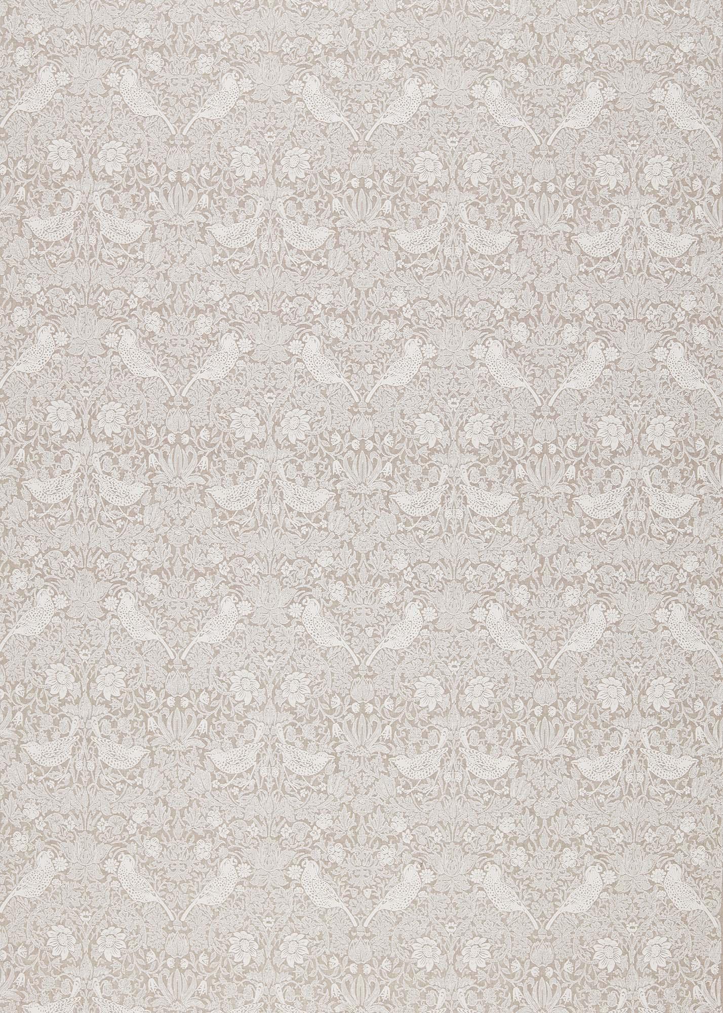 ウィリアムモリス生地 Pure Strawberry Thief Embroidery 236071