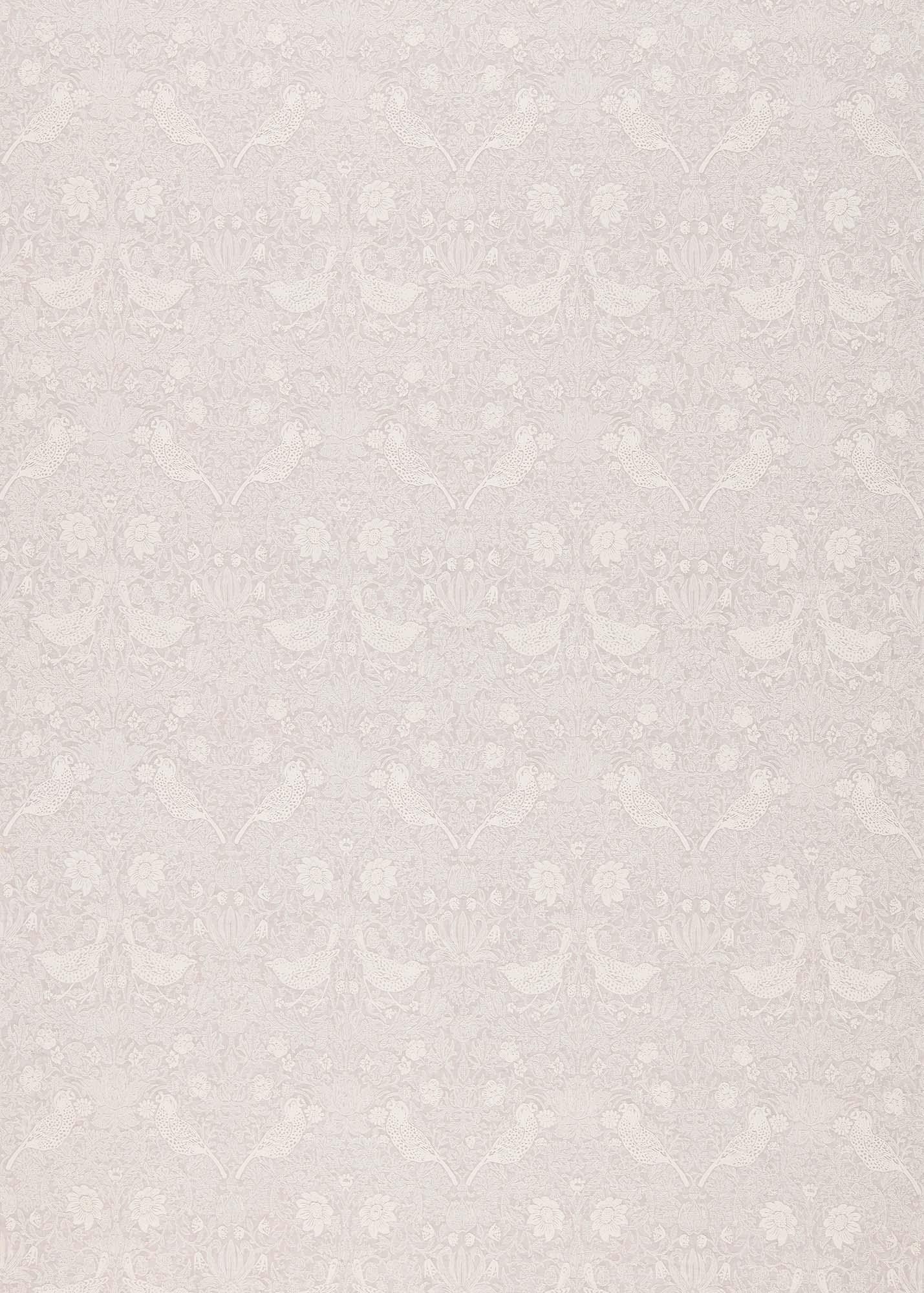 ウィリアムモリス生地 Pure Strawberry Thief Embroidery 236073