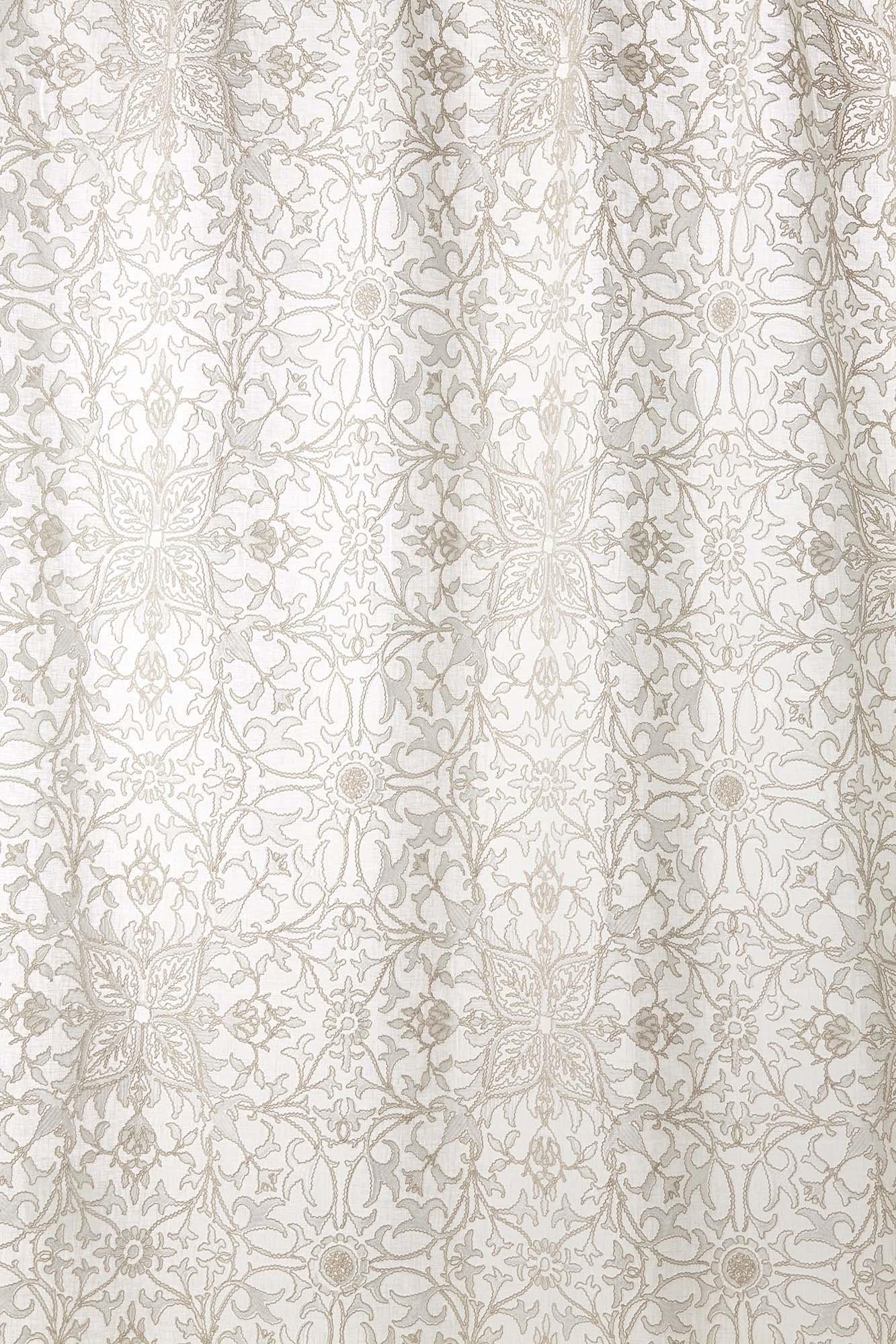 ウィリアムモリス生地 Pure Net Ceiling Embroidery 236077