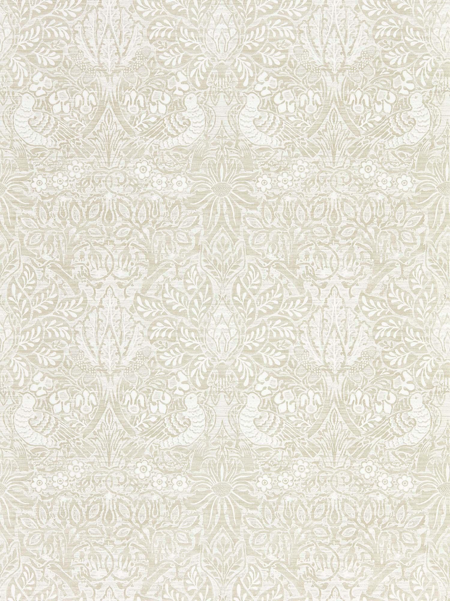 ウィリアムモリス壁紙 Pure Dove & Rose 216521