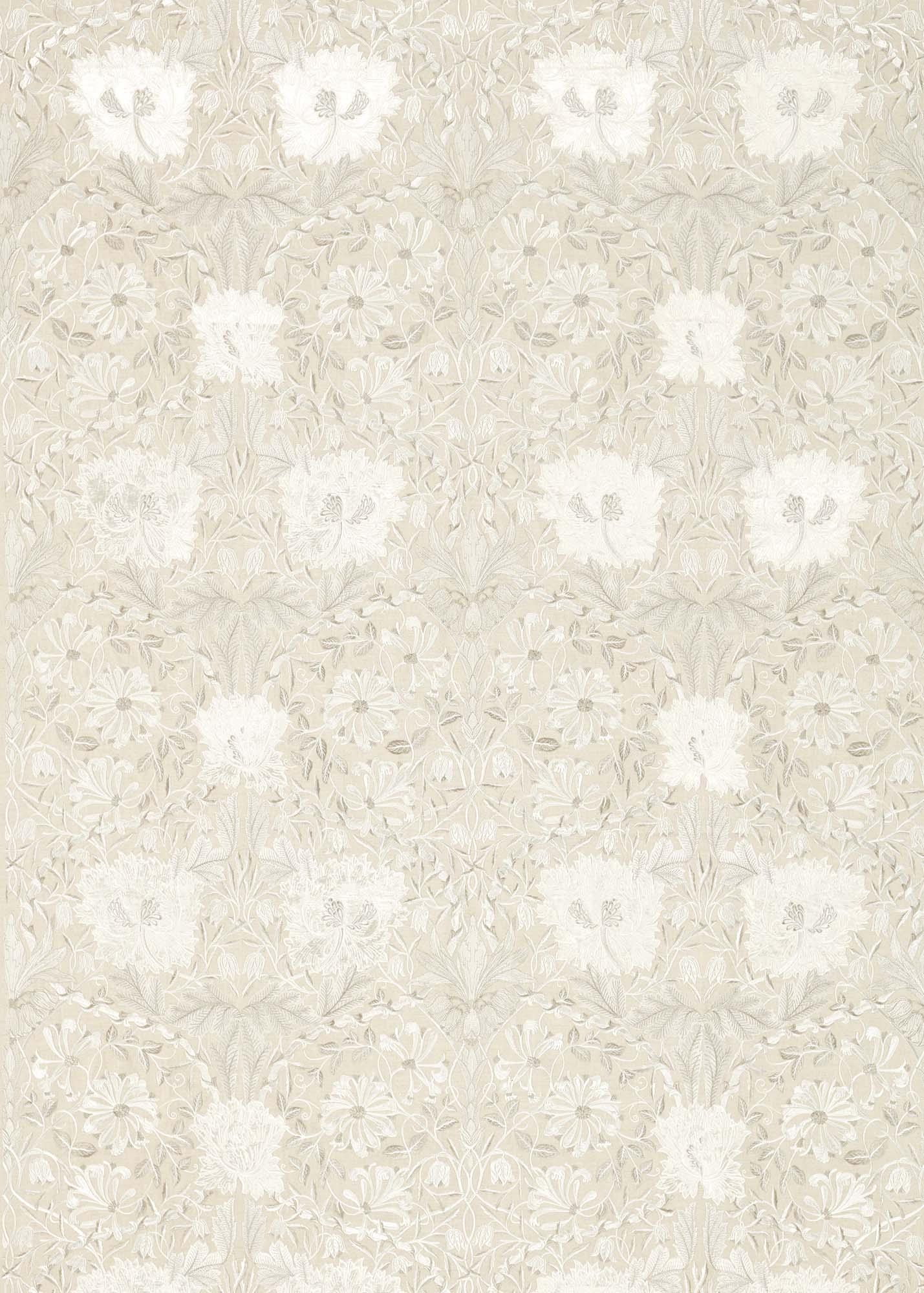 ウィリアムモリス生地 Pure Honeysuckle & Tulip Embroidery 236633