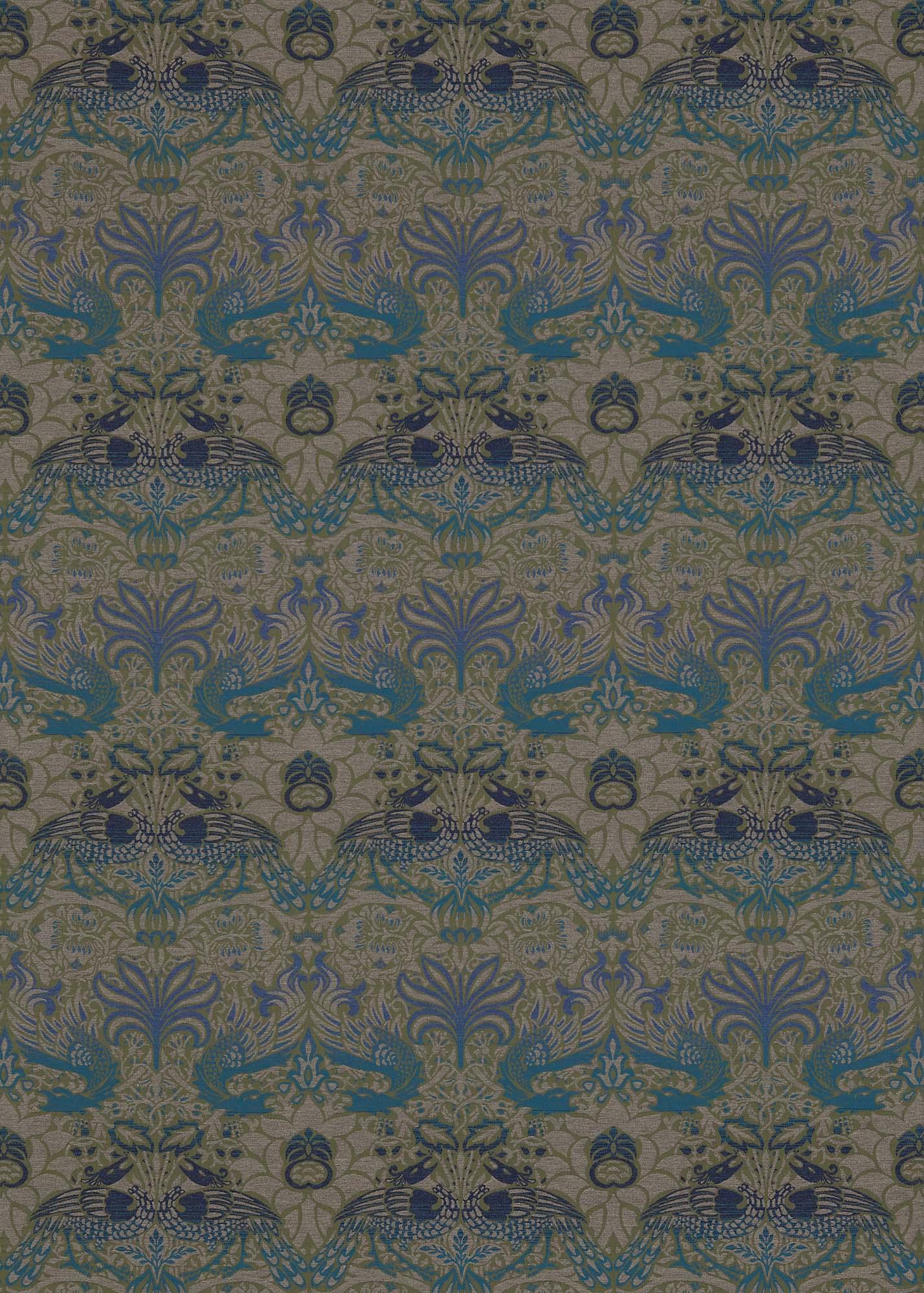 ウィリアムモリス生地 Peacock & Dragon 230302