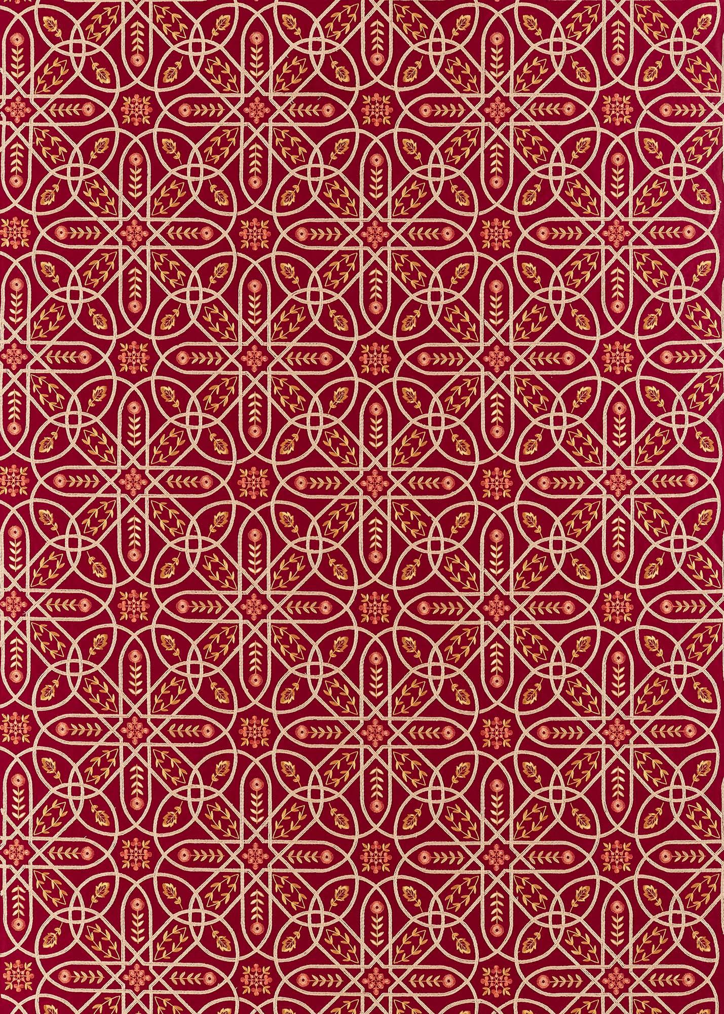 ウィリアムモリス生地 Brophy Embroidery 236814