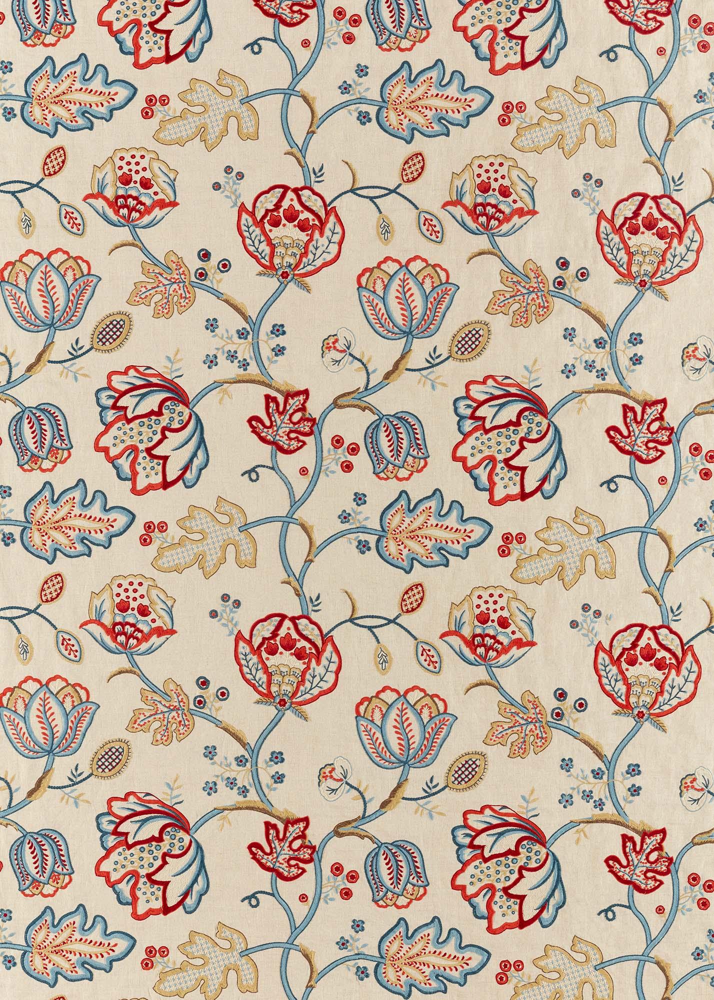 ウィリアムモリス生地 Theodosia Embroidery 236822