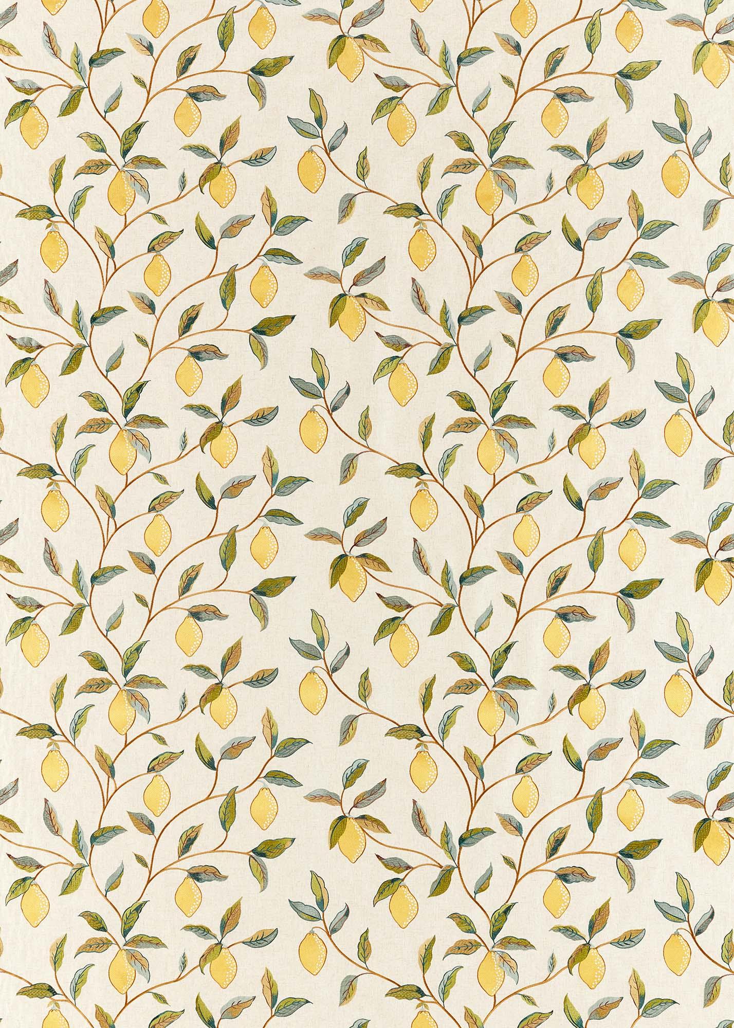 ウィリアムモリス生地 Lemon Tree Embroidery 236823