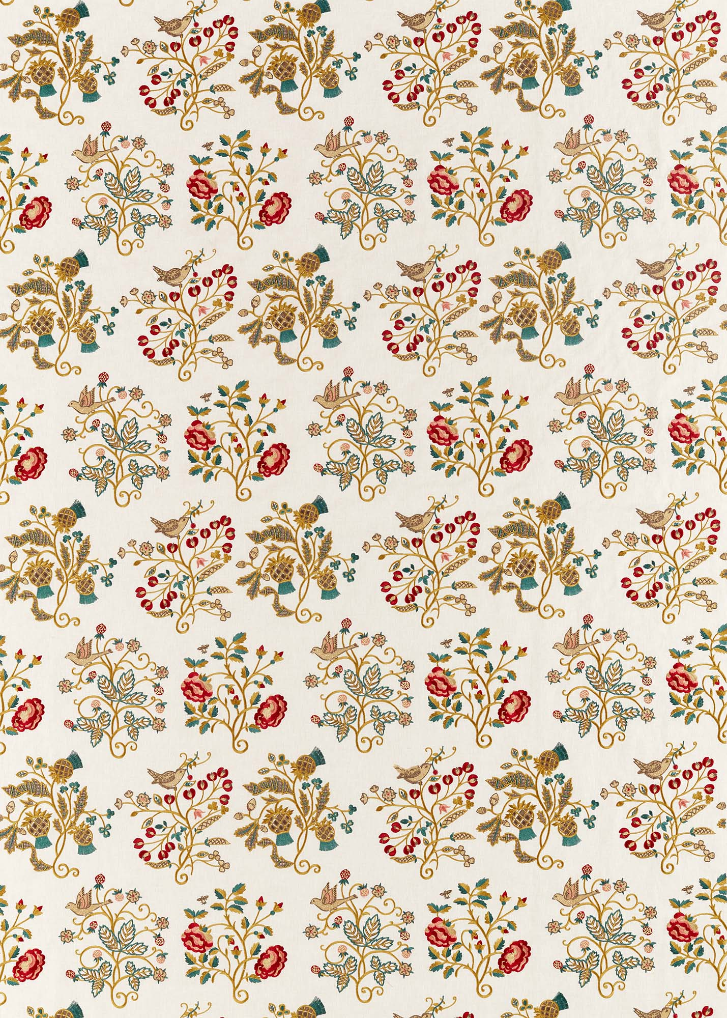 ウィリアムモリス生地 Newill Embroidery 236824