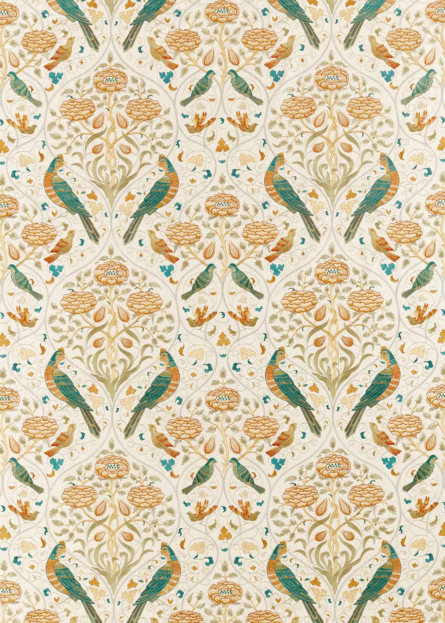 ウィリアムモリス生地 Seasons by May Embroidery 236826