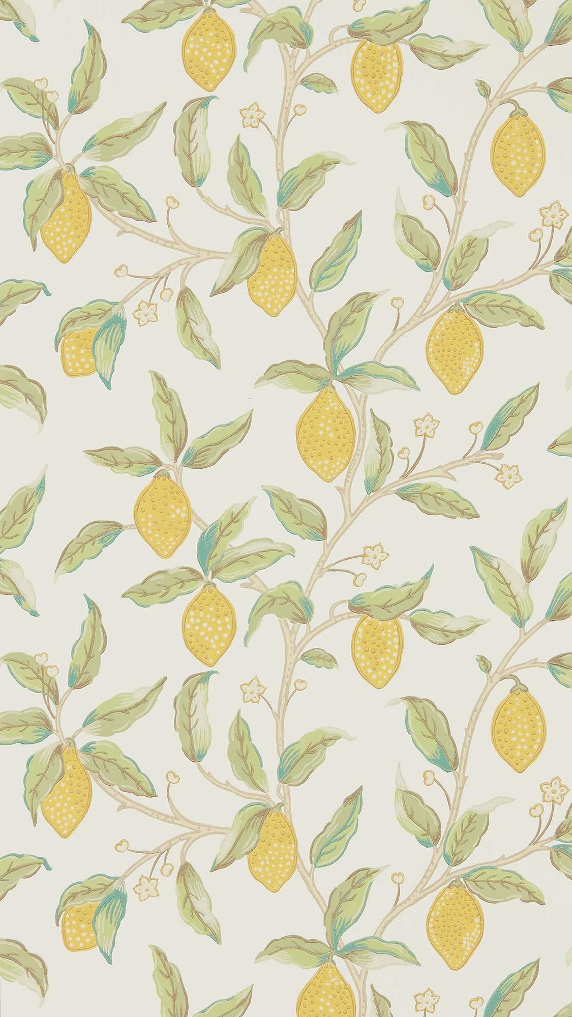 ウィリアムモリス壁紙 Lemon Tree 216672