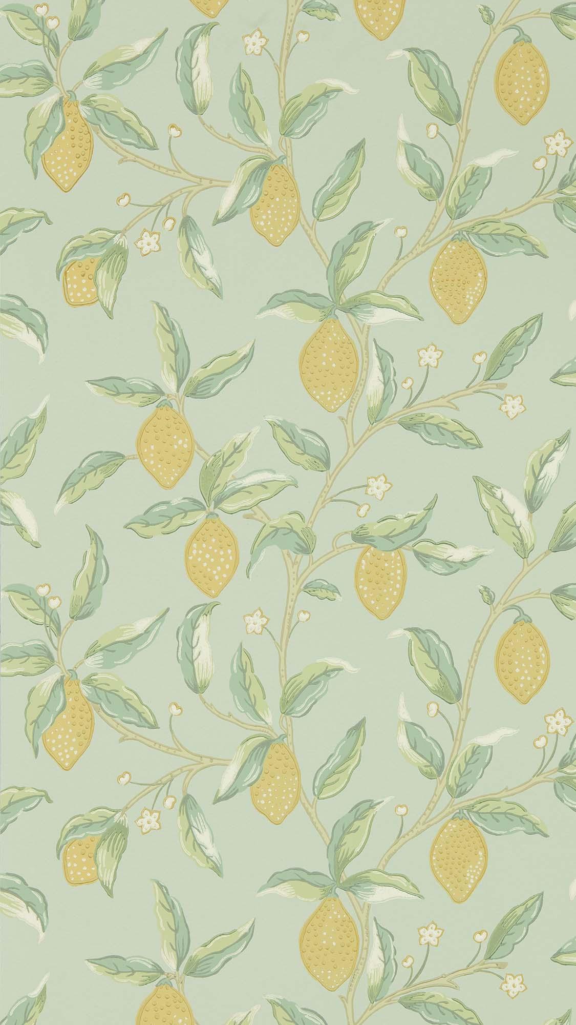 ウィリアムモリス壁紙 Lemon Tree 216673