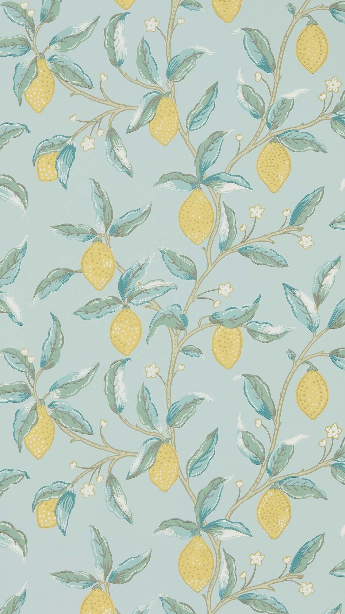 ウィリアムモリス壁紙 Lemon Tree 216674