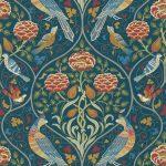 ウィリアムモリス壁紙 Seasons by May 216686  10m1巻 ¥17,840(税別)