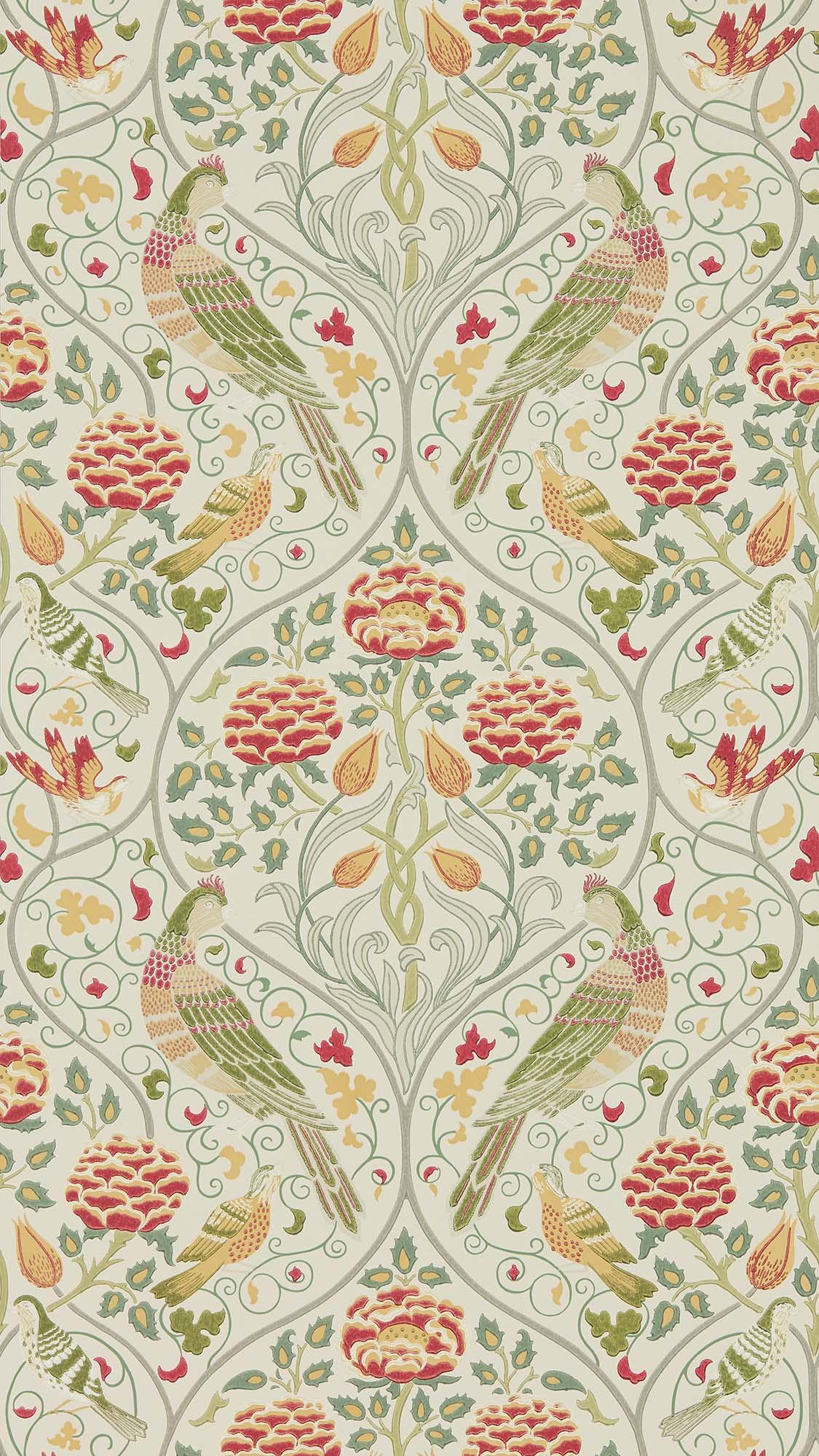 ウィリアムモリス壁紙 Seasons by May 216687