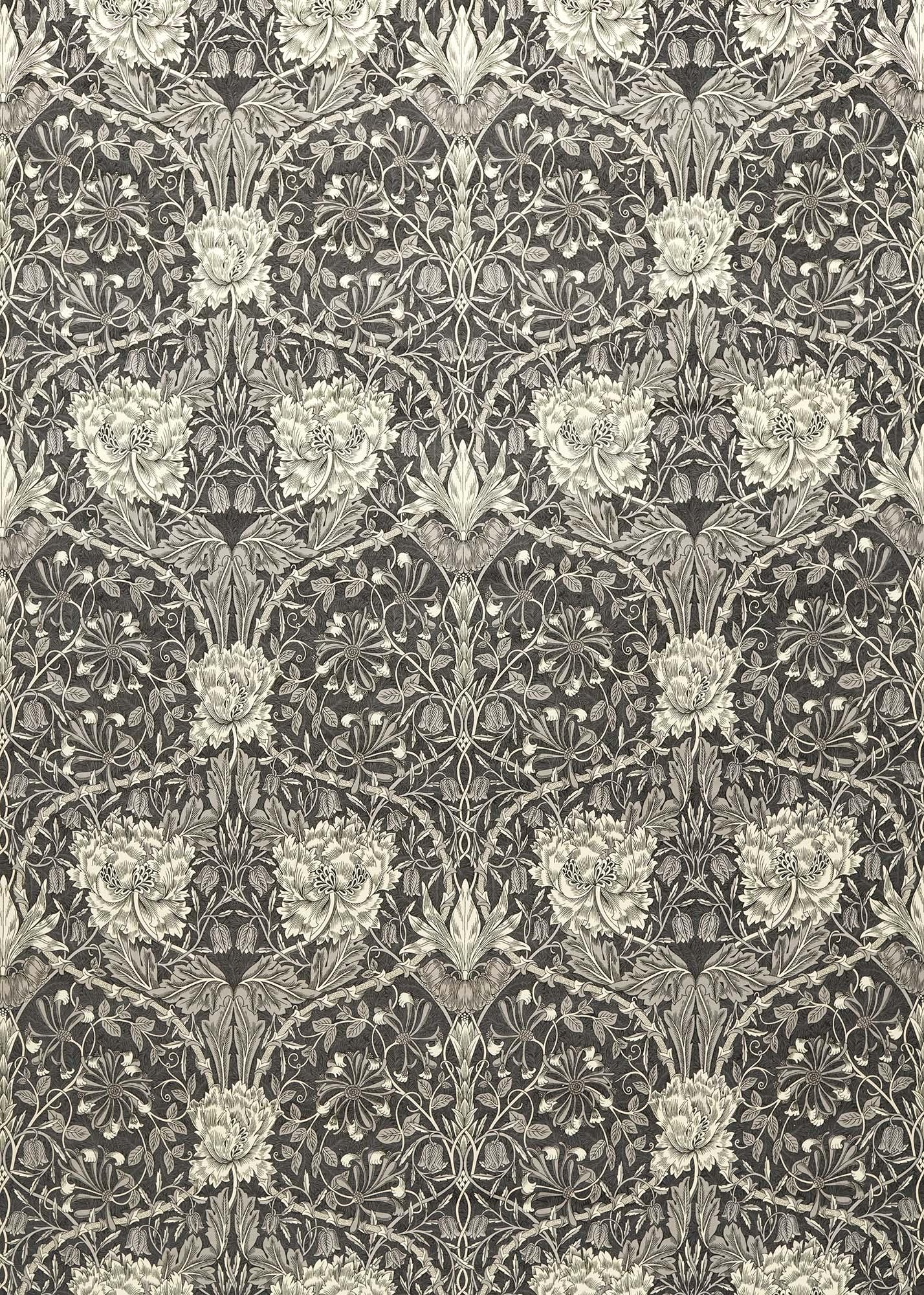 ウィリアムモリス生地 Honeysuckle and Tulip Velvet 236938