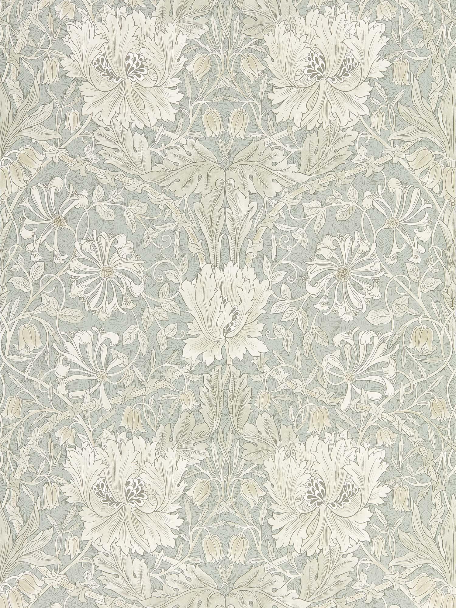 ウィリアムモリス壁紙 Pure Honeysuckle & Tulip 216525