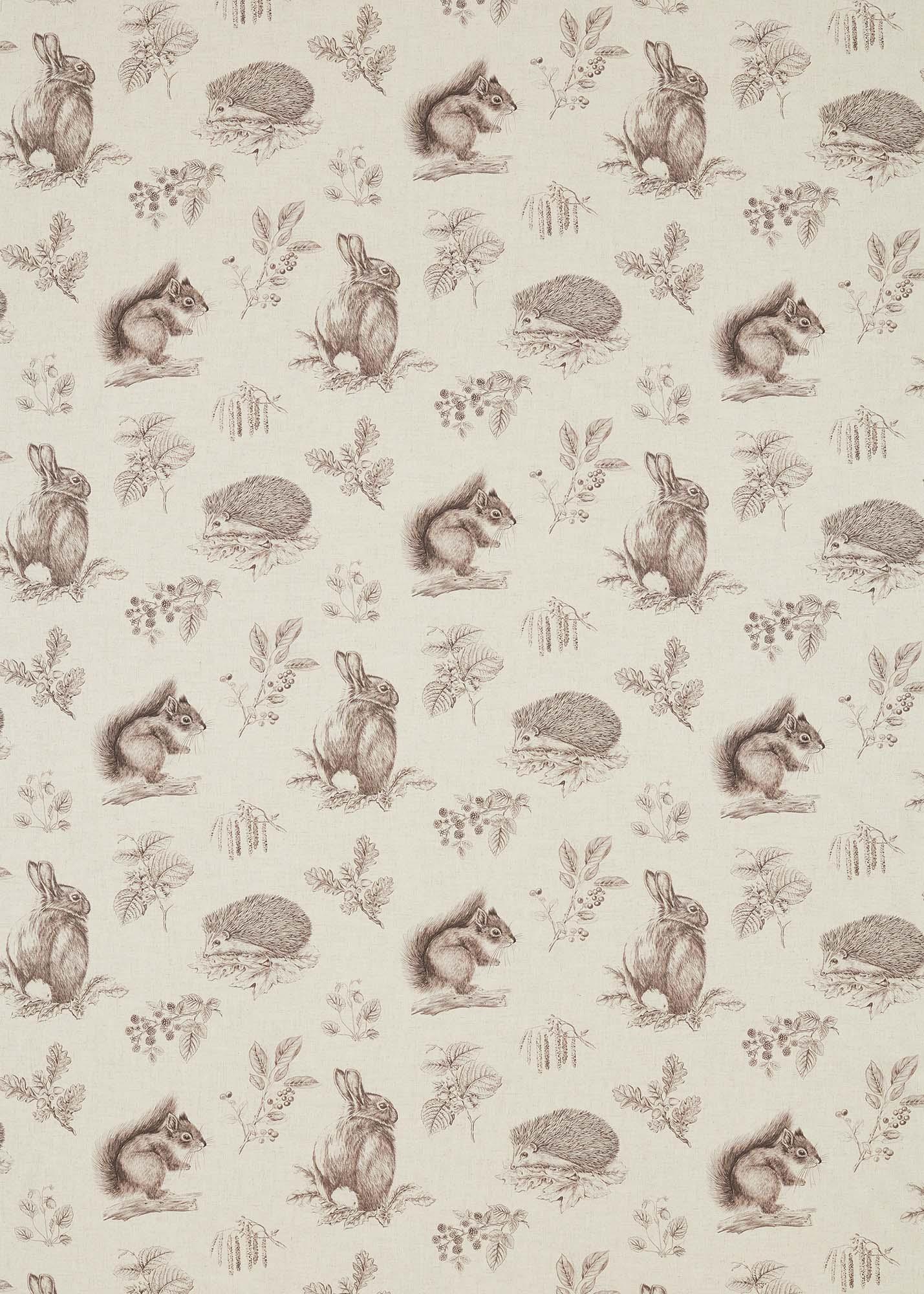 生地 Squirrel & Hedgehog 225523