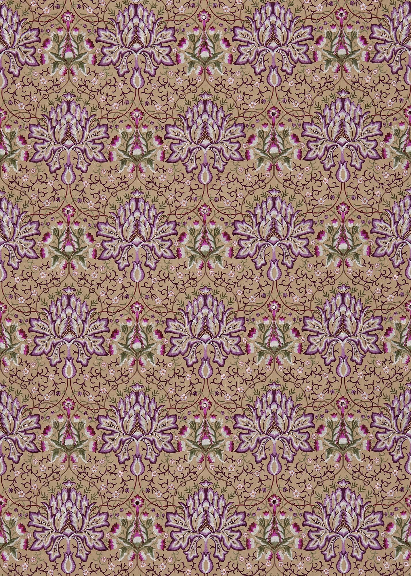 ウィリアムモリス生地 Artichoke Embroidery 234543