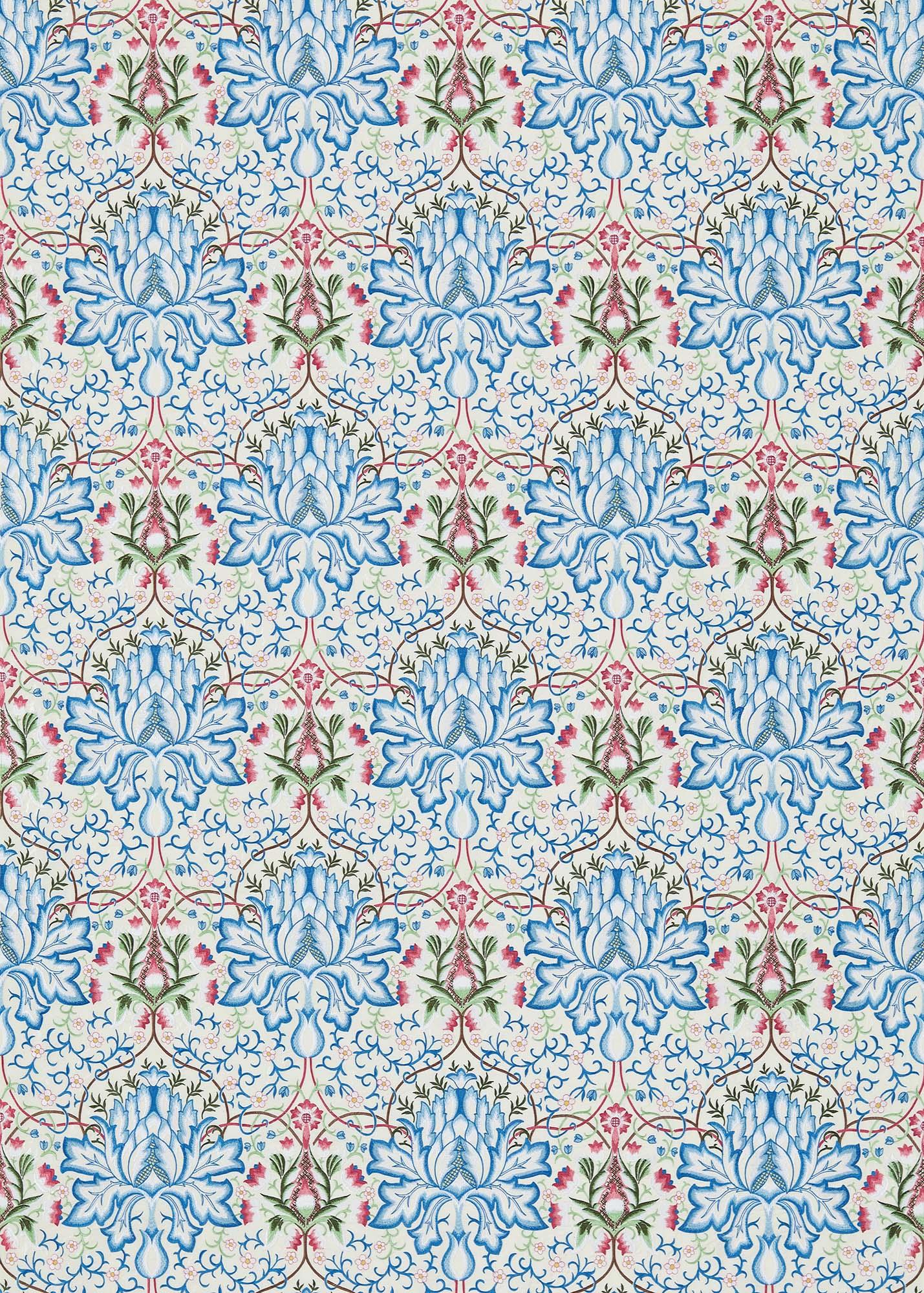 ウィリアムモリス生地 Artichoke Embroidery 234545